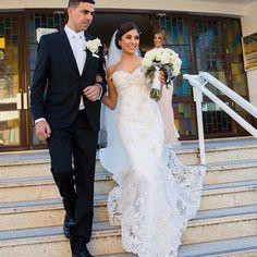 "Wedding on Instagram: ""Stunning real bride wearing @velani"""