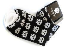 TopatoCo: Pixel Skull Socks