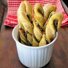 pesto bread sticks :)
