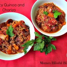 Spicy Quinoa and Chorizo recipe