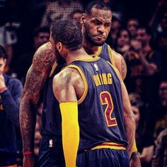LeBron James With Kyrie Irving