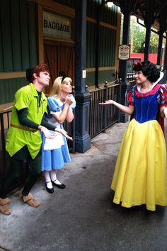 """Sorry you two, I only bake pies for Peter on Wednesdays"" Snow White"