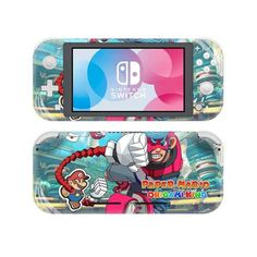 Paper Mario origami king Nintendo switch lite Skin | switch lite wrap | Console skins world