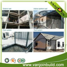 ceramsite_cement_sandwich_wall_panel_application