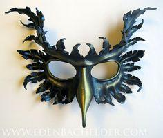 Shiny Black Fashionista sadomaso Maschera Ballo in Maschera Halloween Fancy Dress accessorio