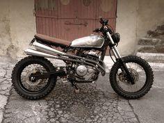 '97 Honda 650 SLR – Julien Perier :: motoblogcl ~ megadeluxe ~