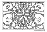 Download, print, color-in, colour-in Page 43 Daisy Swirl
