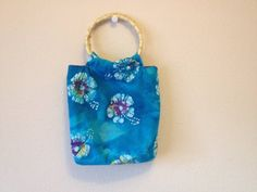 The Tide is High Wooden Handle Purse by BohoVillageBoutique at Etsy.com