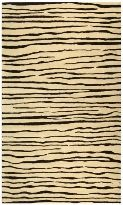 Soho Collection SOH426D Hand Tufted Striped Wool Rug $173.57