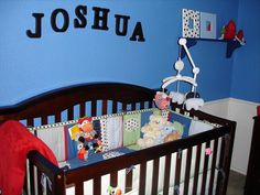 Animal/Primary Color Nursery, part two