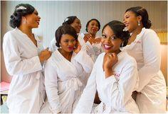 Bridesmaid Robes, Brides And Bridesmaids, Nigerian Bride, Bride Pictures, Bridesmaid Inspiration, Bridal Robes, Bridal Parties, Squad, Instagram Posts