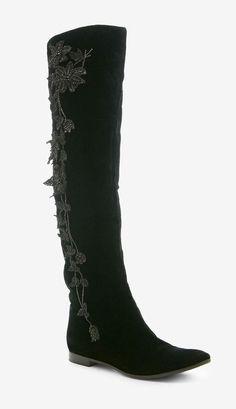 Sergio Rossi Black Boot