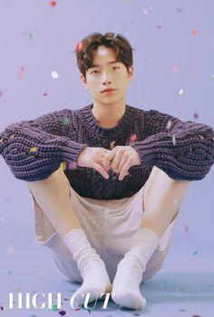 "Seo Kang Joon, who is set to play the lead in the upcoming drama ""Are You Human?"" has a pictorial for High Cut Vol. Gong Seung Yeon, Seung Hwan, Seo Kang Jun, Seo Joon, Sarah Andersen, Asian Actors, Korean Actors, Seo Kang Joon Wallpaper, Kim Young"