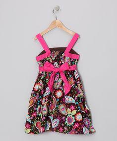 Pink Floral Dress - Toddler & Girls