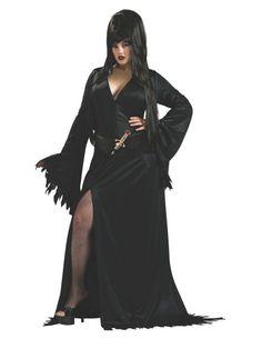Plus Size Adult Elvira Costume (Plus)