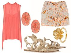 Pretty in Pink & Print summer look