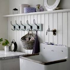 What a classic Laundress space.