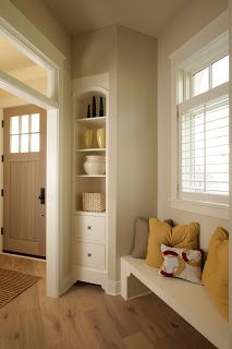 Cool entryway features. Visbeen Architects: Fetching & Functional Built-Ins: Part Two
