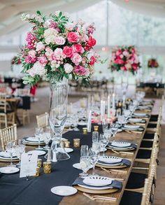 Wildflower Centerpieces, Green Centerpieces, Navy Wedding Flowers, Yellow Wedding Flowers, Wedding Dresses, Tent Reception, Wedding Reception Centerpieces, Ceremony Decorations, Wedding Ceremony