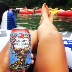 Angry Orchard fan Andrea A. took us floating down a river in San Marcos, Texas on Sunday! Where did you take #CrispApple in a can this past weekend? #BranchOut