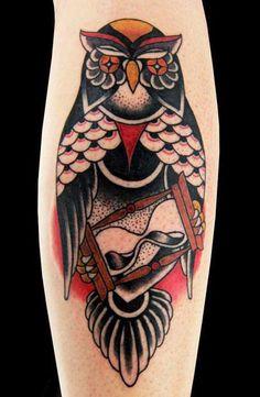 Old School Animal Tattoo by Speranza Tatuaggi - http://worldtattoosgallery.com/old-school-animal-tattoo-by-speranza-tatuaggi/