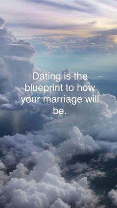 dating & marriage #blueprint
