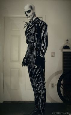My DIY Jack Skellington Cosplay Inspired By A Movie I Haven't Seen