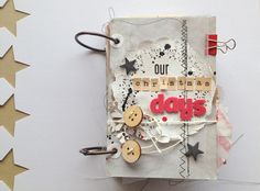 Our christmas Mini Book by mireipol @2peasinabucket Cover