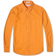 Individualized Shirts Brushed Flannel Shirt (Yellow)