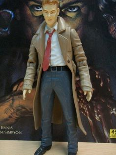 DC Direct Action Figure: Mages, Mystics and Magicians - John Constantine Hellblazer (2000)