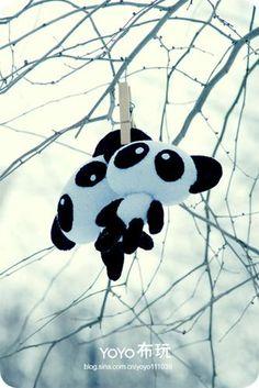 cute panda pattern....for free!....