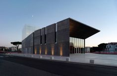 Theatre, Montalto di Castro, Viterbo, Italy | by mdu architetti, Prato, Italy