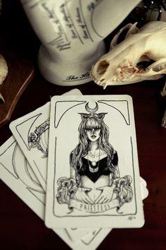 • skulls art creative artwork skull bird Witch frog cards darkness goth gothic witchcraft wiccan tarot wicca TAROT CARDS dark blog dark beauty gothic beauty gothic blog witch stuff lilly perrott socialpsychopathblr •