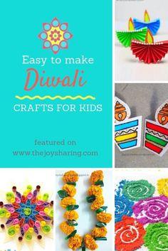 Easy Diwali Crafts for Kids Lots of easy to make Diwali crafts for kids. You find ideas for Diwali rangoli, Diwali diya, Diwali garland, and handmade Diwali greeting cards. diwali via Diwali Activities, Craft Activities, Preschool Crafts, Paper Crafts For Kids, Easy Crafts For Kids, Toddler Crafts, Rangoli Designs, Handmade Diwali Greeting Cards, Diwali Craft For Children