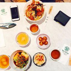 Dinner time  Agedashi Tofu Katsudon and Takoyaki  //  at Taka's with food friends @gourmetconviction @jvrawung @alvinfutography @andoo_one5six4