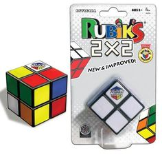 Try your hand at Rubik's Cube, the classic colour-matching, cube-twisting brain teaser. This 2 X 2 cube is a smaller version of the original cube, so it's super portable. It won't peel or fade and has a mechanical design for smooth and fast solving. 2x2 Rubik's Cube, Cubes, Logic And Critical Thinking, Unique Gifts, Best Gifts, Top Gifts, Xmas Gifts, Cube Puzzle, Mechanical Design