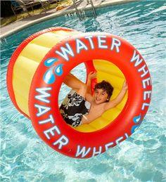 Long-Lasting Heavy-Duty Vinyl Floatable Water Wheel Pool Toy $59.98