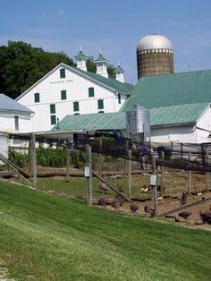 Malabar Farm-Ohio Farms. Note from me:  I am really looking forward to going here this summer. Life is indeed good. : )