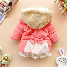 Baby Coat Winter Toddler Jacket Girls Coats by SolarButterfly, $32.90