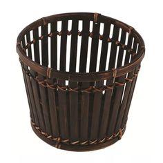 cachepo de bambu redondo - gzt