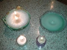Easy Candles w/ pop tab wicks