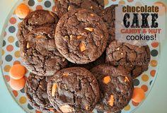 Craft-O-Maniac: Chocolate CAKE candy & nut Cookies
