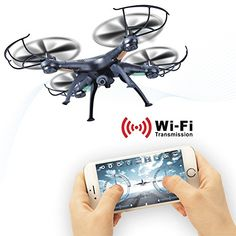 WIFI Camera RC Drone Kit LAMASTON X5SW-1 FPV RC Quadcopter with Extra Battery, Real Time transmission RC Airplane,2.4G Remote Control Helicopter Drone with Live Video Camera,RC Aircraft -- Read more  at the image link.