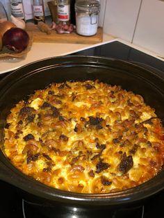 Tupun tupa: Makaronilaatikko Macaroni And Cheese, Curry, Pizza, Ethnic Recipes, Food, Curries, Essen, Mac And Cheese, Yemek