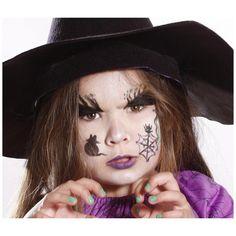 Maquillage enfant Halloween réalisé avec le Pochoir de maquillage Grim'Tout  - Magie - Tout à Creer
