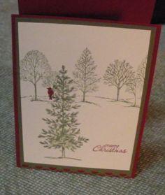 Lovely as a Tree SWAP card 2880