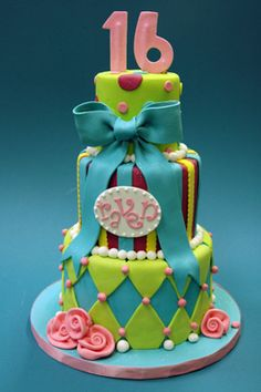 f6e00aabea47 Gallery album : sweet 16 cake ideas w/ different colors. Stephanie Brauer ·  Ideas/Projects for Mrs. Carrot