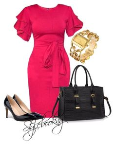 A fashion look from September 2017 featuring black pumps, tote handbags and gold jewellery. Browse and shop related looks. Black Pumps, Tote Handbags, Fashion Looks, Polyvore, Shopping, Crocheted Purses, Bags