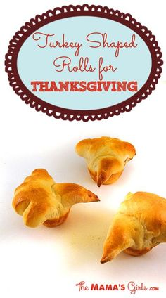 Turkey Shaped Rolls for Thanksgiving ~ So much fun for the kids!  And easier than I thought!