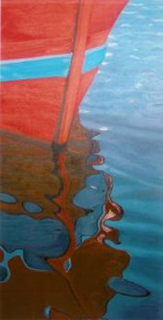 Barca y reflejo.Boat and reflection.